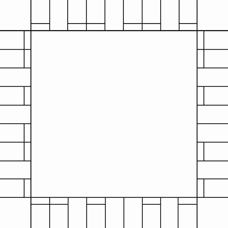 Blank Monopoly Board Awesome Blank Monopoly Board Template Free Printable Game