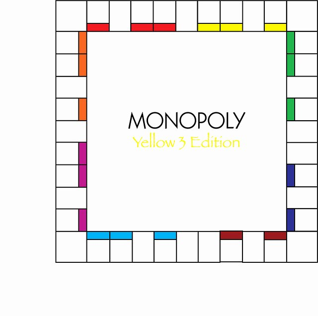 Blank Monopoly Board Unique Monopoly Board