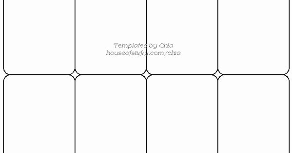 Blank Playing Card Template Lovely Templete for Playing Cards Artist Trading Cards