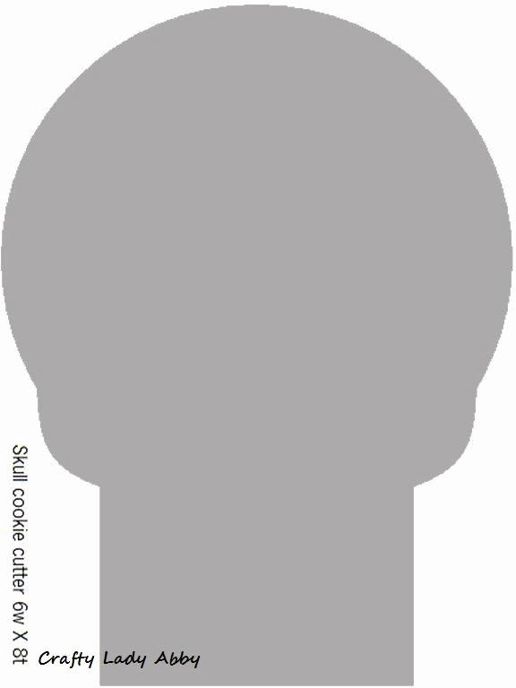 Blank Sugar Skull Template Elegant Simple Blank Template
