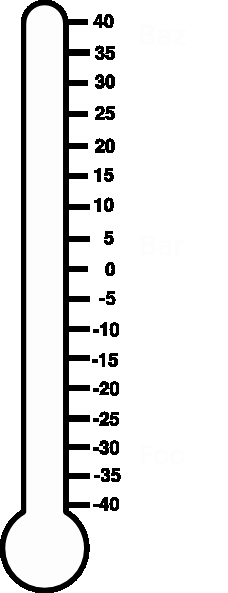blank thermometer cliparts