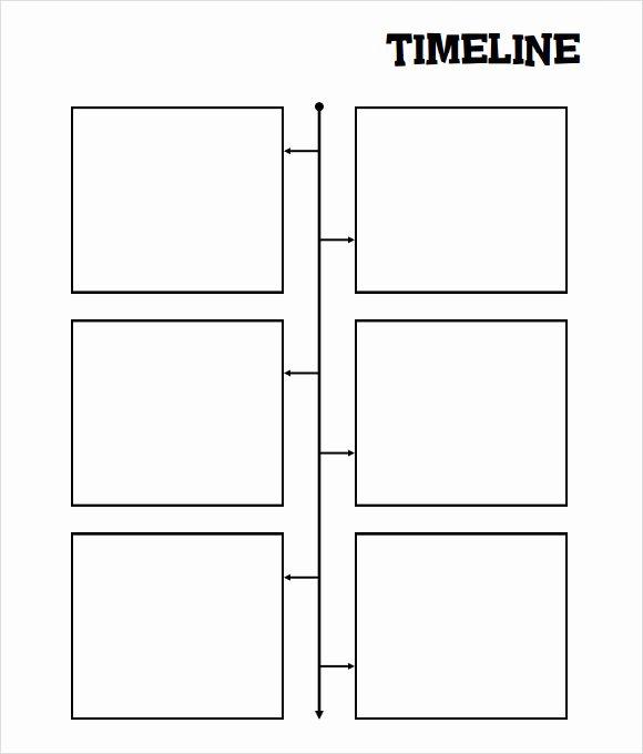 Blank Timeline Worksheet Pdf Awesome Sample Blank Timeline Template 7 Free Documents In Pdf