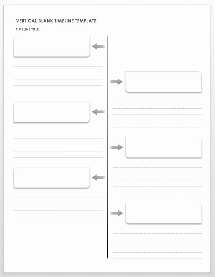 Blank Timeline Worksheet Pdf Beautiful Free Blank Timeline Templates
