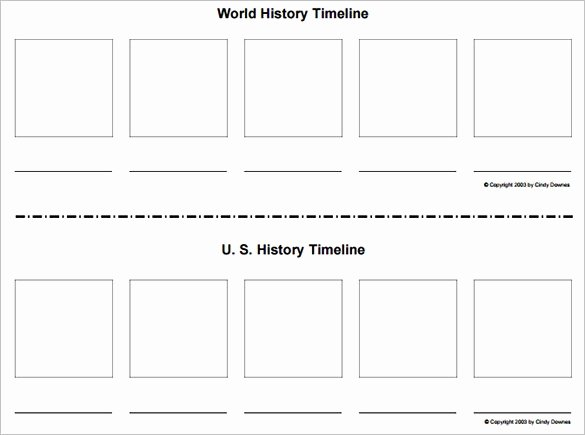 Blank Timeline Worksheet Pdf Beautiful History Timeline Template Free Invitation Template