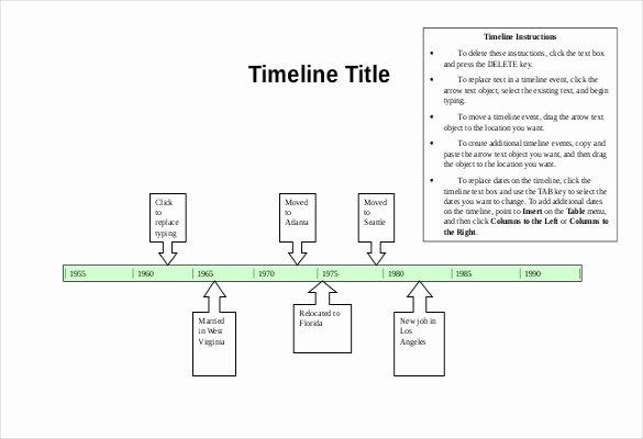 Blank Timeline Worksheet Pdf Best Of 47 Blank Timeline Templates Psd Doc Pdf