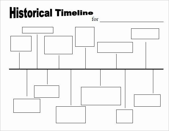 Blank Timeline Worksheet Pdf Fresh 10 Timeline Templates for Kids – Samples Examples