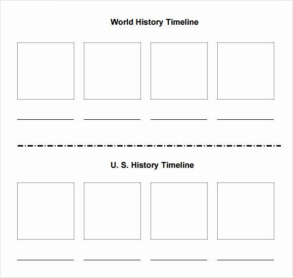 Blank Timeline Worksheet Pdf Fresh Sample Blank Timeline Template 7 Free Documents In Pdf