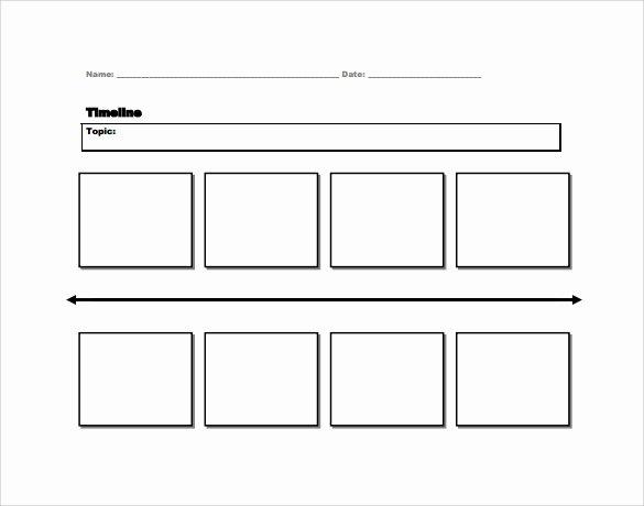 Blank Timeline Worksheet Pdf New 7 Sample Timelines