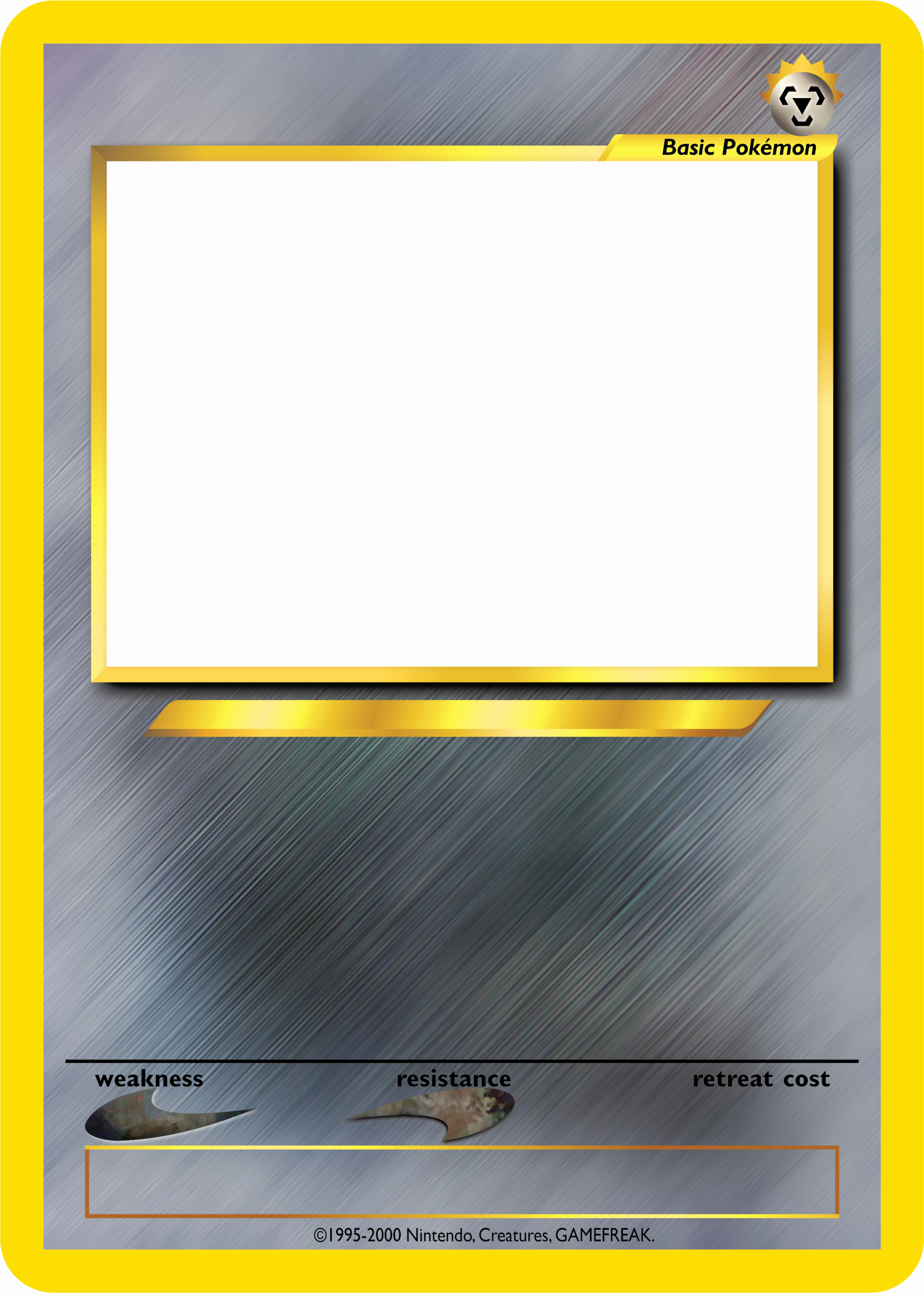 Blank Trading Card Template Inspirational Pokemon Tcg Blanks Neo Jumbo Basic by Icycatelf On