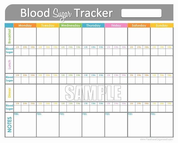 Blood Sugar Log Template Excel Beautiful Blood Sugar Log Template