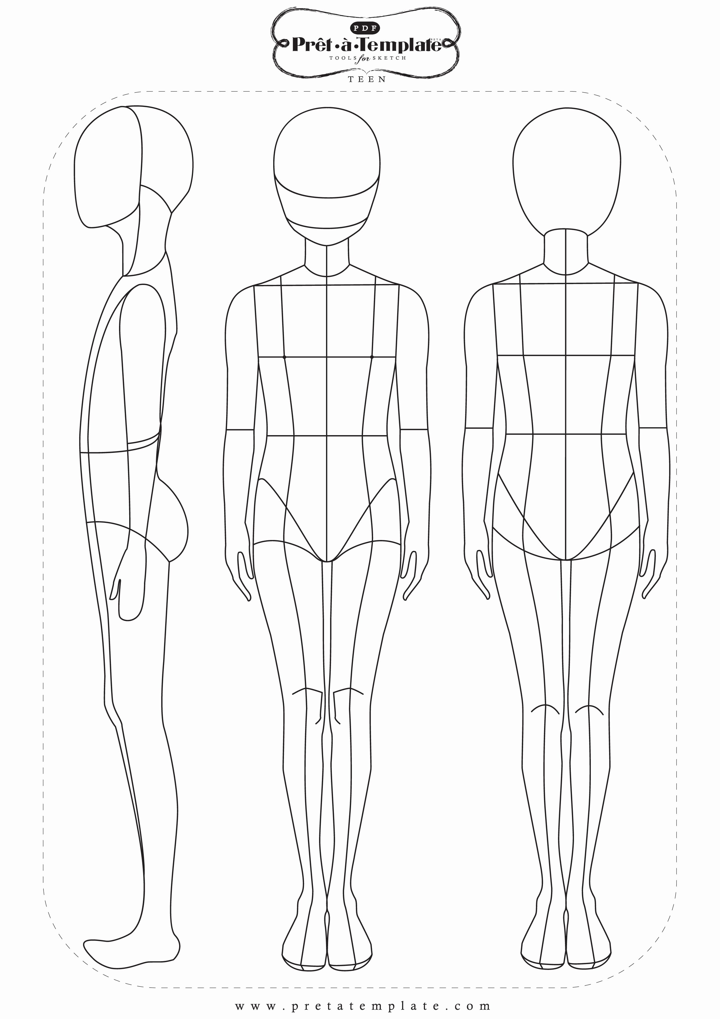 Body Drawing Template Beautiful Fashion Templates Fashion App Pret à Template Available