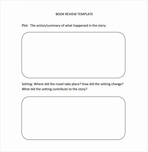 Book Review Template Pdf Fresh Sample Book Review Template 10 Free Documents In Pdf Word