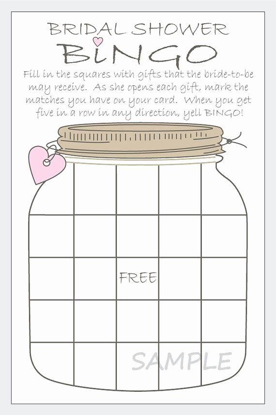 Bridal Bingo Template Fresh 17 Best Images About Christmas Wedding Shower On Pinterest