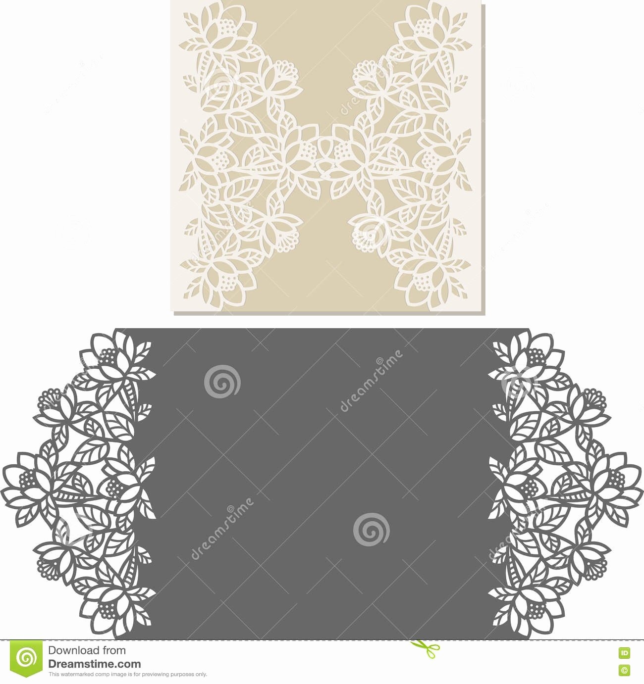 Bridesmaid Card Template Lovely Envelope Cartoons Illustrations & Vector Stock