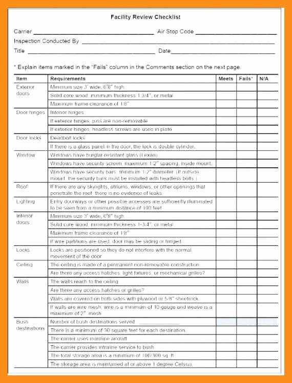 12 13 school maintenance plan template