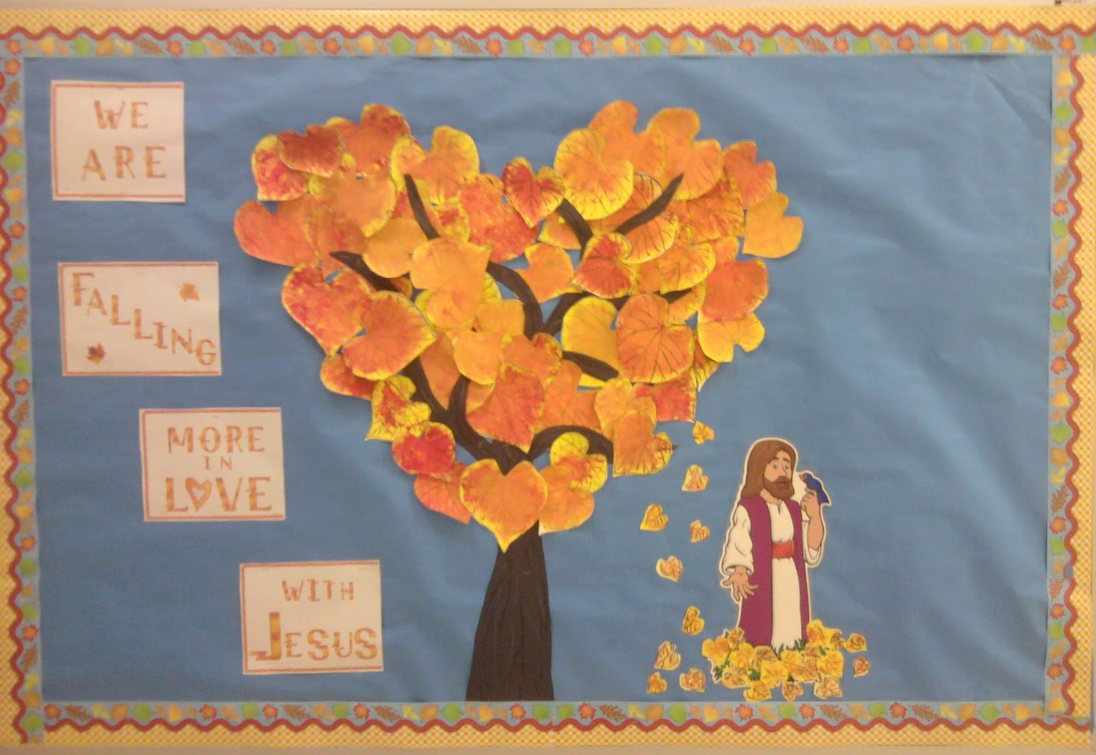 Bulletin Board Tree Template Inspirational Autumn Leaves for Classroom Quotes Quotesgram