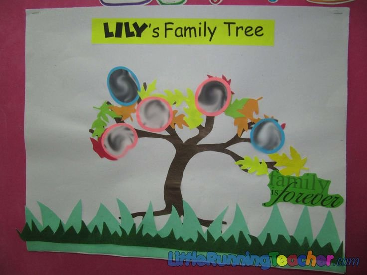 Bulletin Board Tree Template New 1000 Images About Preschool Family On Pinterest