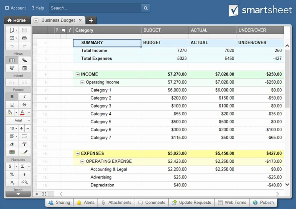 Business Budget Excel Template Beautiful All the Best Business Bud Templates