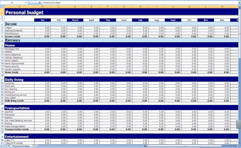 Business Budget Excel Template Luxury Business Bud Templates for Excel