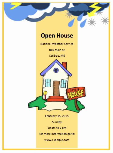 Business Open House Flyer Template New Real Estate Flyers
