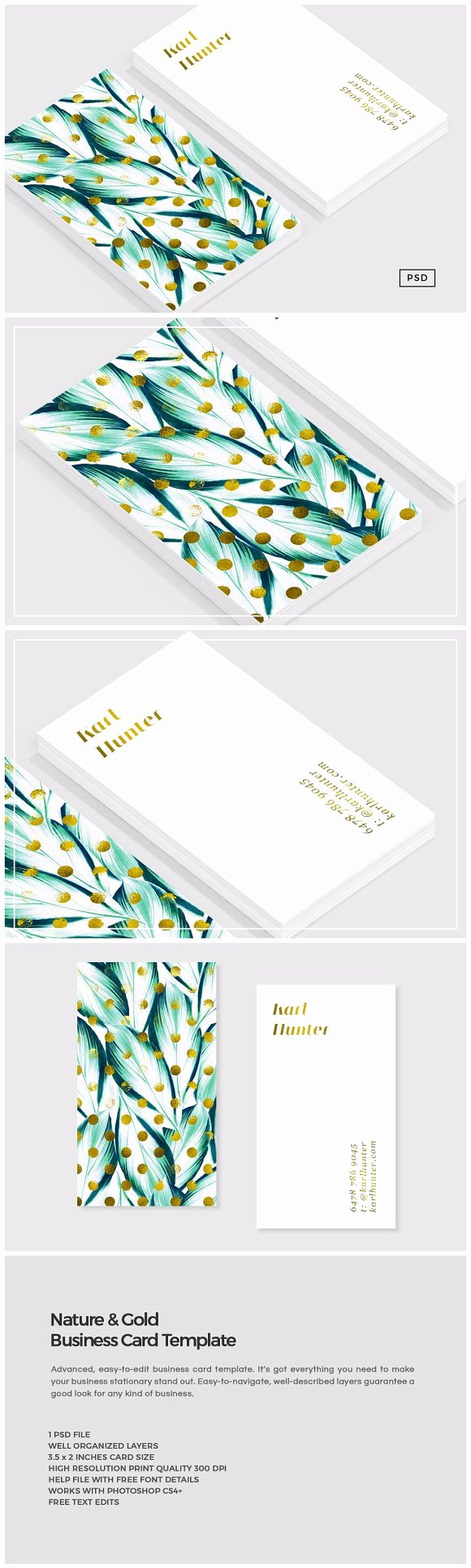 Business source Label Templates Fresh Nature & Gold Business Card Template Business Card
