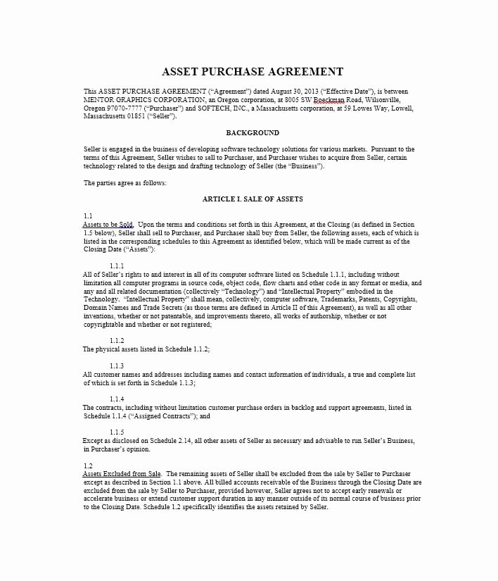 Buyout Agreement Template Beautiful 37 Simple Purchase Agreement Templates [real Estate Business]