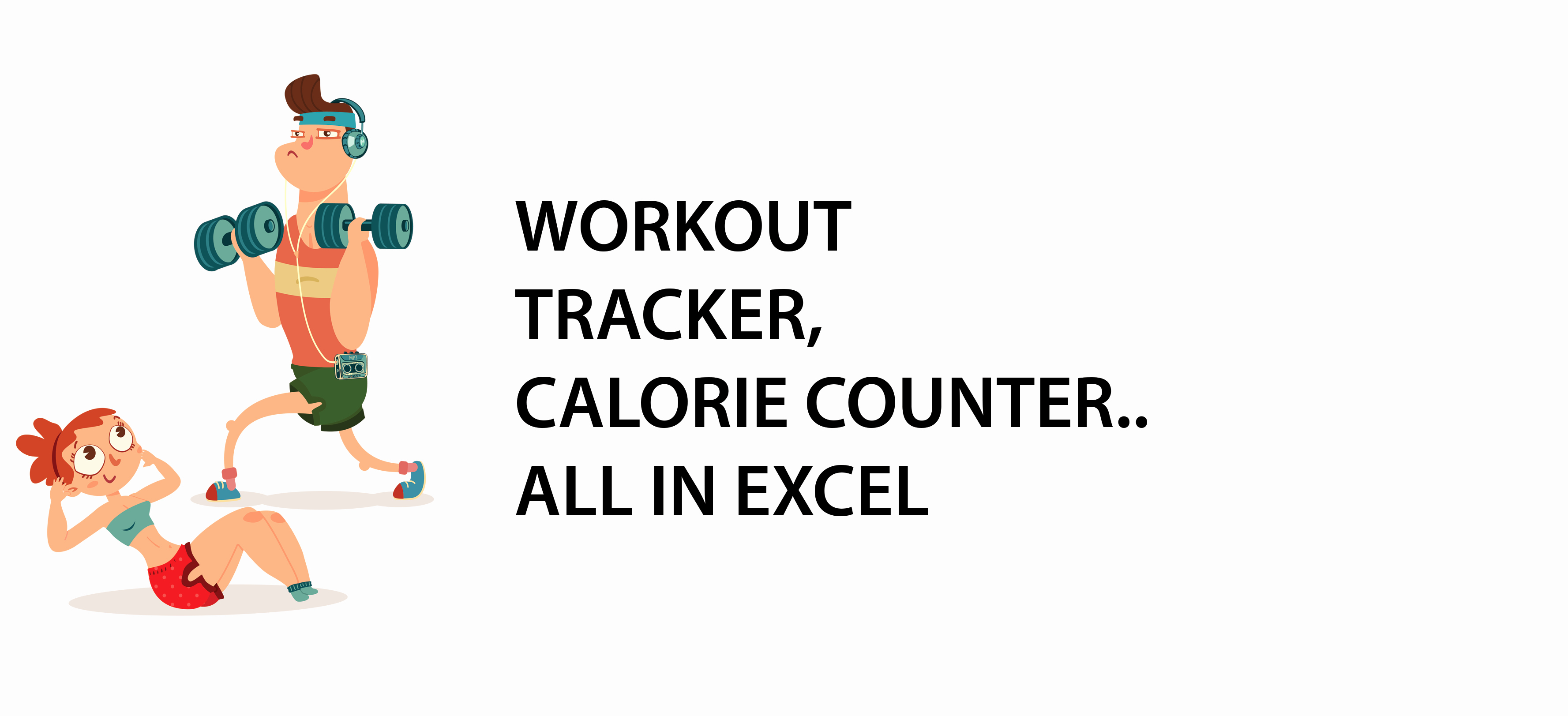 Calorie Counter Spreadsheet Awesome Workout Tracker Calorie Counter…all In Excel Excel with