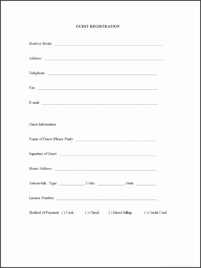 Camp Registration form Template Word Inspirational 8 Sports Camp Registration form Template