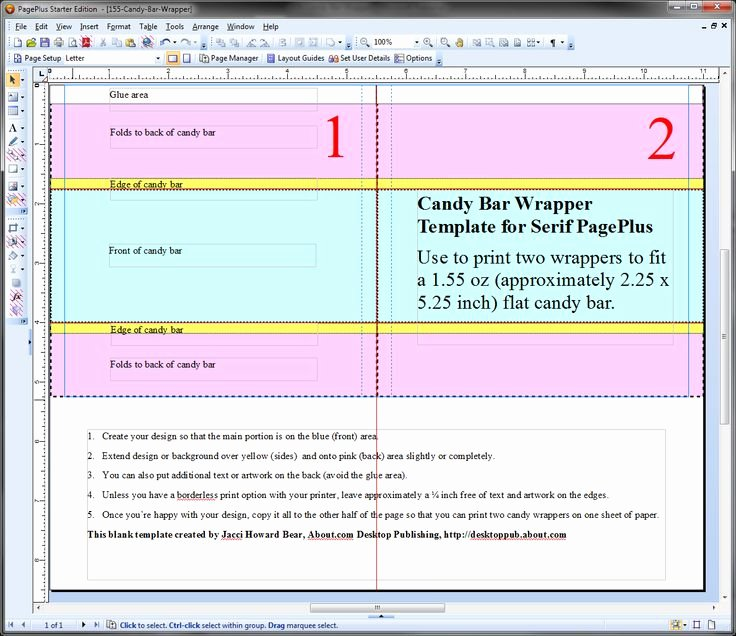 Candy Wrapper Template New 17 Best Images About Candy Wrapping Diy On Pinterest