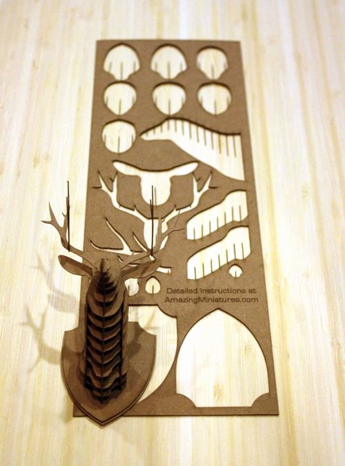 Cardboard Deer Head Template Unique Best 25 Cardboard Deer Heads Ideas On Pinterest