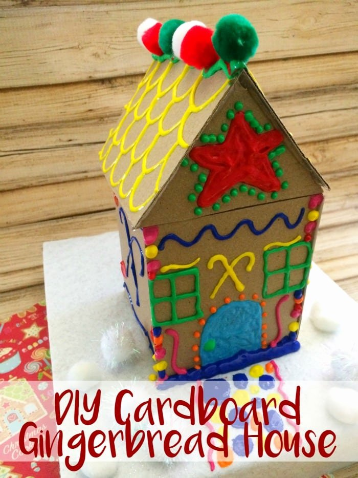 Cardboard Gingerbread House Awesome Make Your Own Cardboard Gingerbread House Moments with Mandi