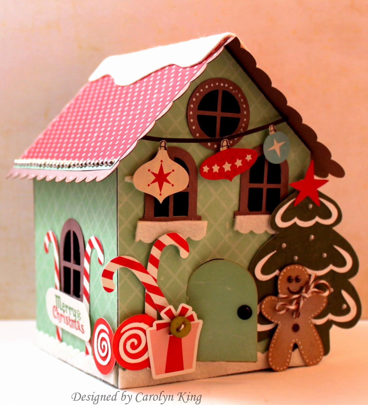 Cardboard Gingerbread House Elegant My Blog Gingerbread House