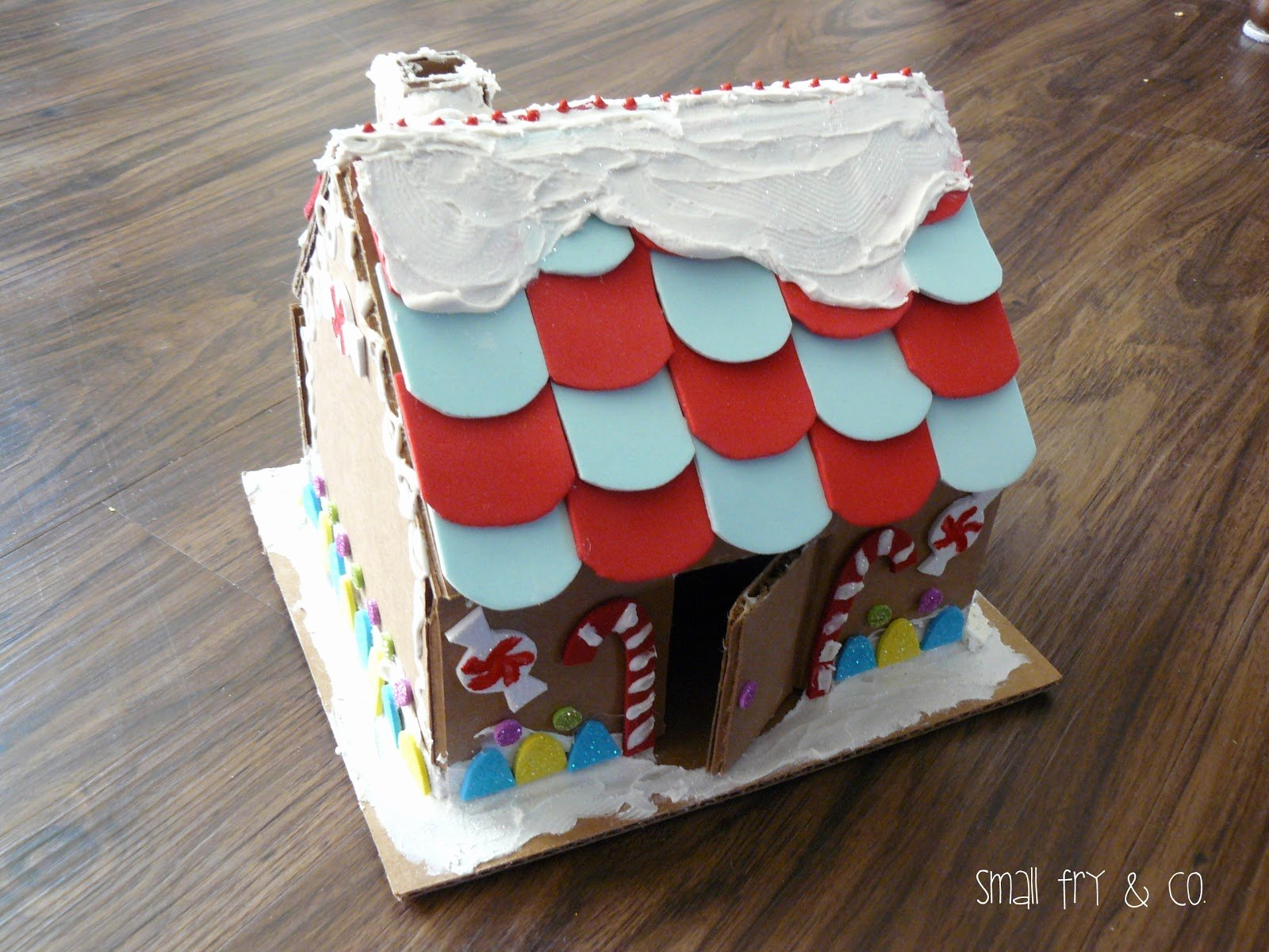 Cardboard Gingerbread House Elegant Small Fry & Co A Gingerbread House that Could Last the