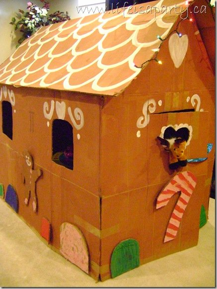 Cardboard Gingerbread House Unique Life Size Cardboard Gingerbread House Life is A Party