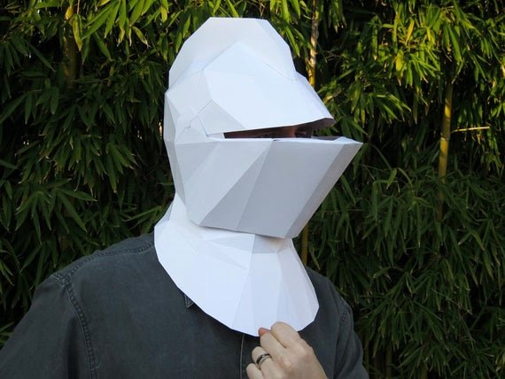 Cardboard Knight Helmet Template Luxury Make Your Own Me Val Knight Helmet with Just by
