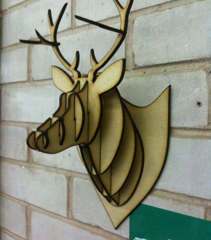 Cardboard Taxidermy Templates Elegant Best 25 Cardboard Deer Heads Ideas On Pinterest