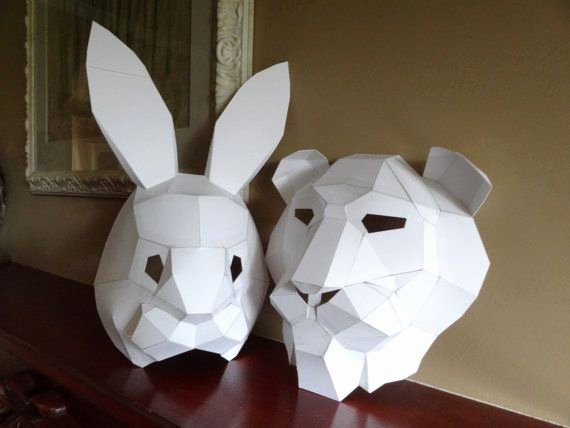 8th grade geometric mask