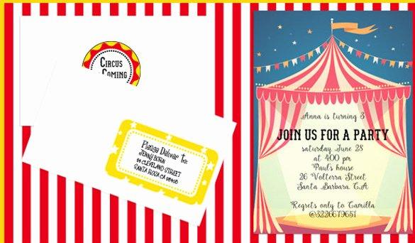 Carnival Invitation Template Free Awesome Free Printable Carnival Invitations