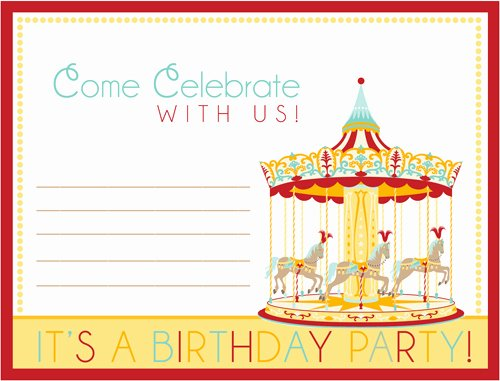 Carnival Invitation Template Free Elegant Free Carnival Ticket Invitation Template Download Free