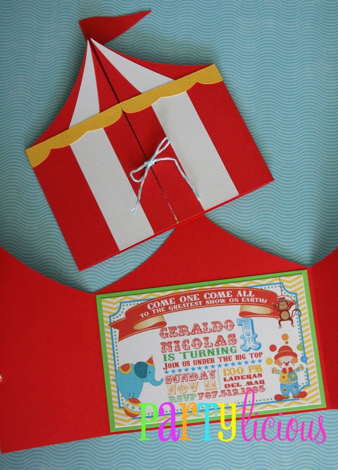 Carnival Invitation Template Free Fresh Partylicious events Pr Circus Spectacular Birthday