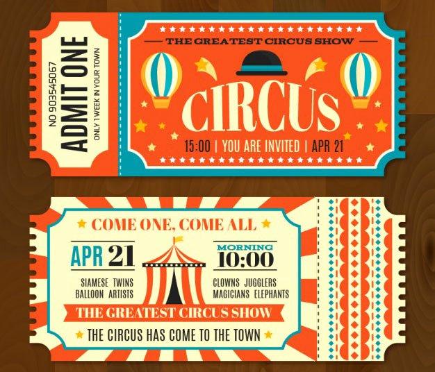 Carnival Ticket Template Fresh 16 Free Ticket Design Templates for Download Designyep