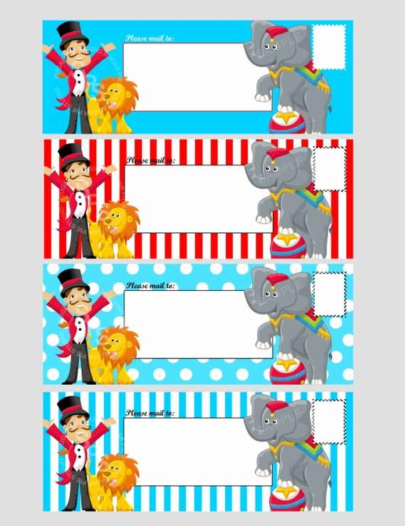Carnival Ticket Template Luxury Items Similar to Printable Digital File Circus Ticket