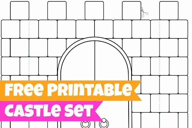 post 3d castle templates paper cut out