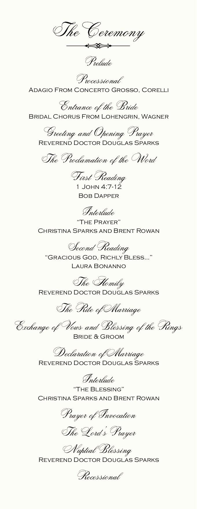 Catholic Wedding Ceremony Program Templates Inspirational Catholic Mass Wedding Ceremony Catholic Wedding Traditions