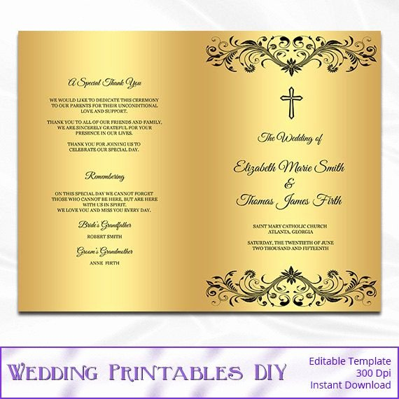 Catholic Wedding Mass Program Template Inspirational Best 25 Catholic Wedding Programs Ideas On Pinterest