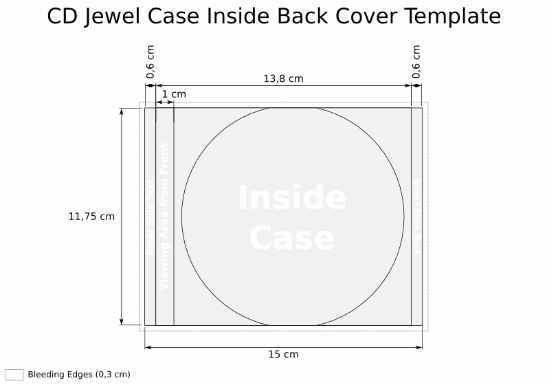 Cd Jewel Case Template Word Luxury Cd Template Jewel Case Inside Back Cover