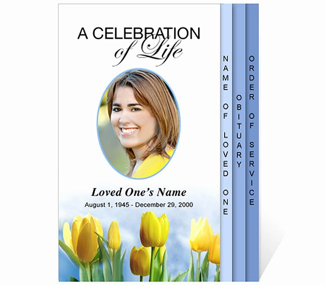 Celebration Of Life Template Free Fresh New Funeral Program Templates are now Available at the