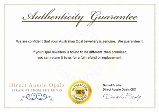 Certificate Of Authenticity Template Inspirational 5 Printable Certificate Of Authenticity Templates Doc