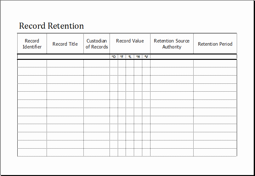 Certificate Of Data Destruction Template Fresh 21 Of Records Destruction Log Template