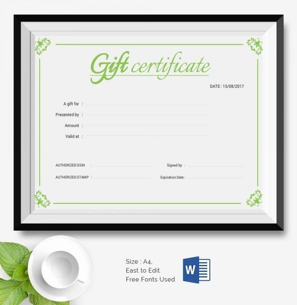 Certificate Of Data Destruction Template Fresh 25 Certificate Templates